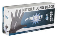 Gants multi-usages Nitrile Long Black