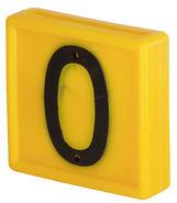 Plaquette numérotée standard