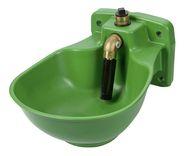 Abreuvoir en plastique chauffant avec vanne HP20