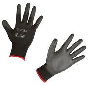 Gants à tricotage fin Gnitter Black
