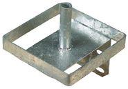 Support de pierre à lécher en métal
