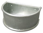 Mangeoire semi-circulaire zinguée