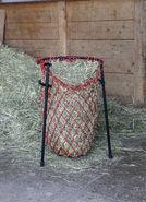 Aide au remplissage des filets à foin