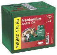 Pile alcaline AKO 9 volts 170 Ah
