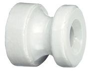 Isolateur à clouer, en porcelaine
