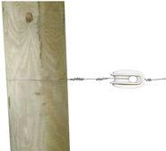 Isolateur type oeuf en polyamide renforcé fibre de verre