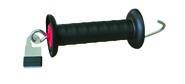 Poignée de barrière avec connecteur de rubans Litzclip®
