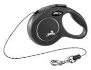 Laisse enrouleur corde pour chien Flexi New Classic