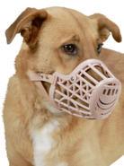 Muselière PVC pour chien