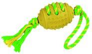 Ballon de football et sa corde