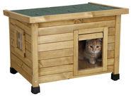 Maison pour chat Rustica