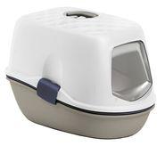 Maison de toilette pour chat Furba Top avec tamis de nettoyage