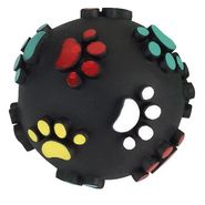Balle motifs pattes de chien